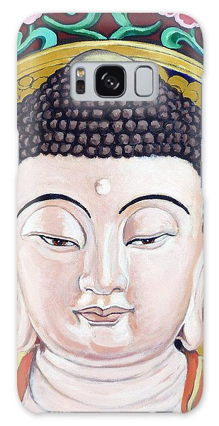 Goddess Tara Galaxy Case by Tom Roderick