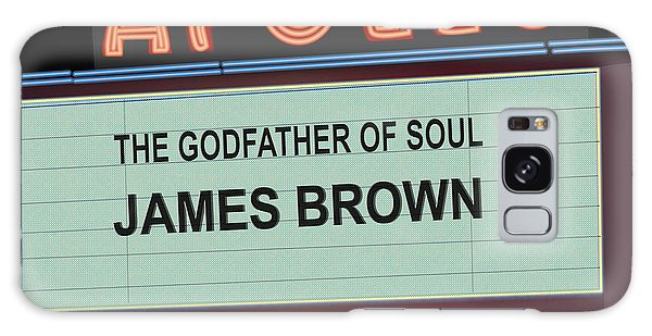 Godfather Of Soul Galaxy Case by Michael Lovell