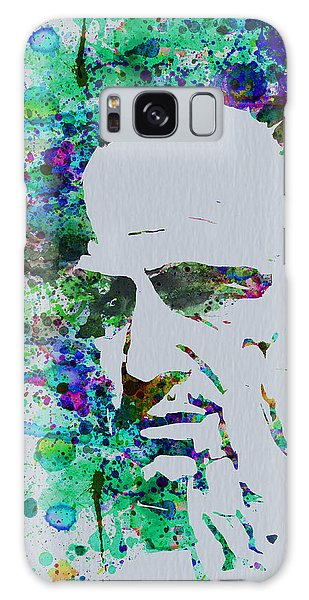 Movie Poster Galaxy Case - Godfather Watercolor by Naxart Studio