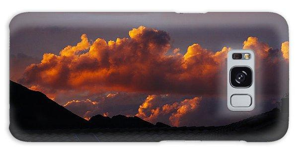 God's Golden Clouds Galaxy Case