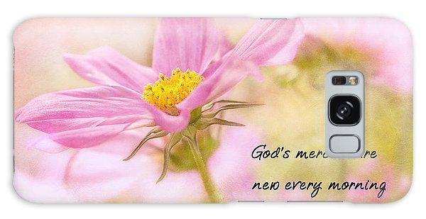 God's Mercies Galaxy Case