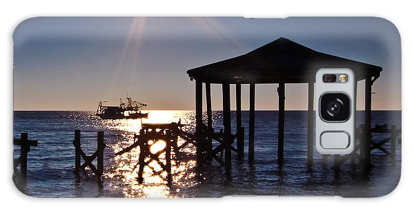 God's Sun Flower At Sea Galaxy Case by Brian Wright
