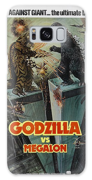 Trailer Galaxy Case - Godzilla Vs Megalon Poster by Gianfranco Weiss