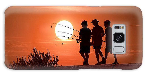 Going Fishing Galaxy Case