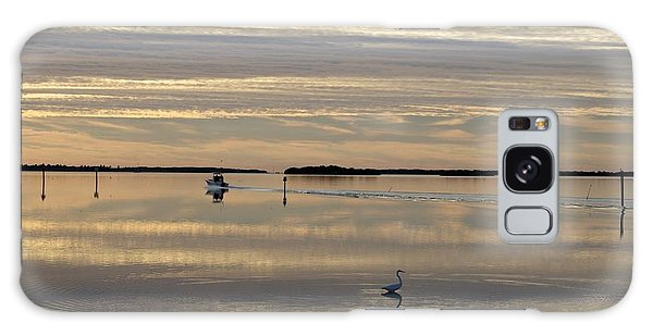 Going Fishing Galaxy Case by Sandy Molinaro