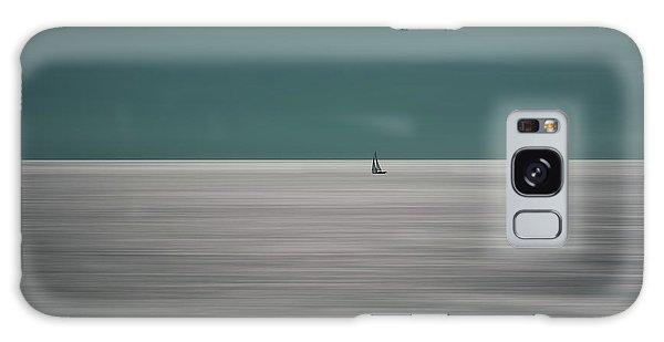 Long Exposure Galaxy Case - Going For The Horizon by Bernardine De Laat