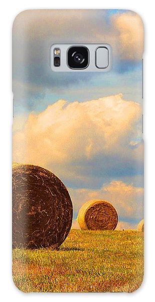 Going Going Gone Galaxy Case by Susan Duda