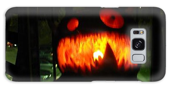 Going Up Pumpkin Galaxy Case by Shawn Dall
