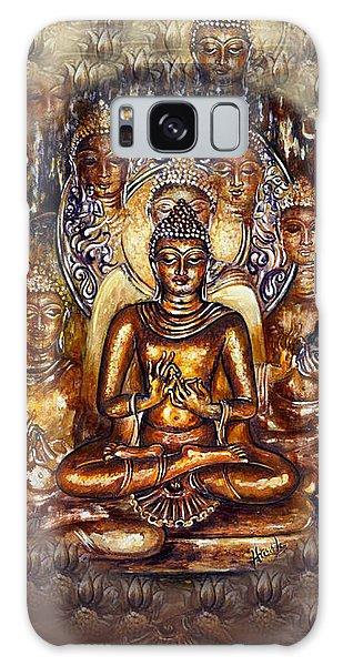 Gold Buddha Galaxy Case