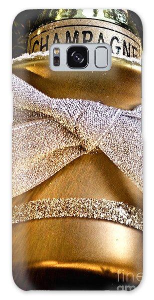 Gold Champagne Ornament Galaxy Case by Birgit Tyrrell