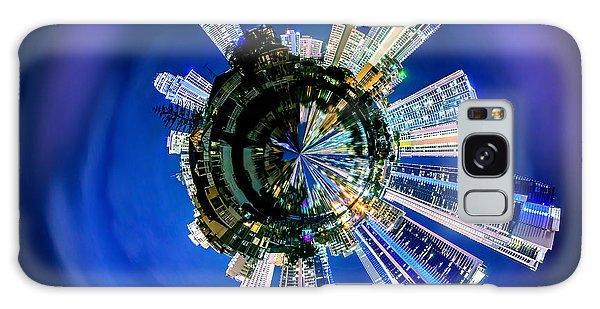 Colours Galaxy Case - Gold Coast Skyline 6 Circagraph by Az Jackson