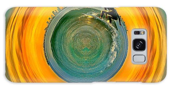 Colours Galaxy Case - Gold Coast Surfer Circagraph by Az Jackson