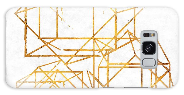 Color Galaxy Case - Gold Cubed I by South Social Studio