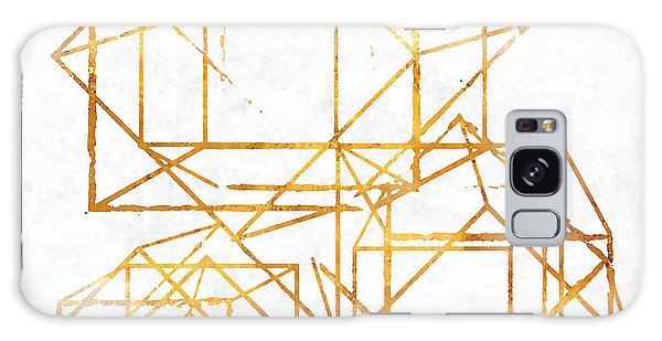Pattern Galaxy Case - Gold Cubed I by South Social Studio