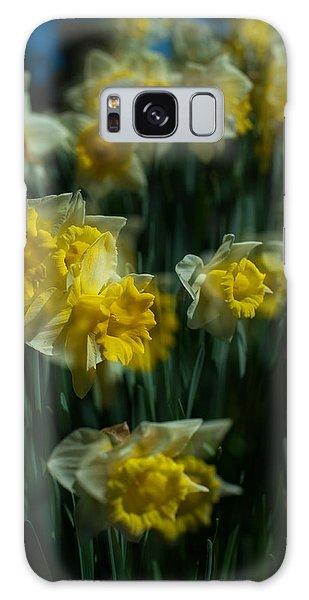 Gold Daffodil Galaxy Case by Catherine Lau