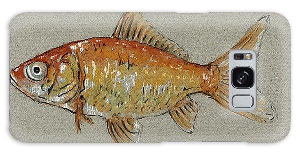 Gold Galaxy Case - Gold Fish by Juan  Bosco