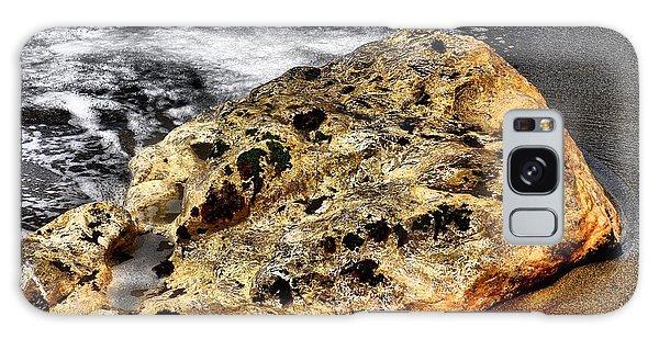 Gold Flecks Galaxy Case by Bob Wall