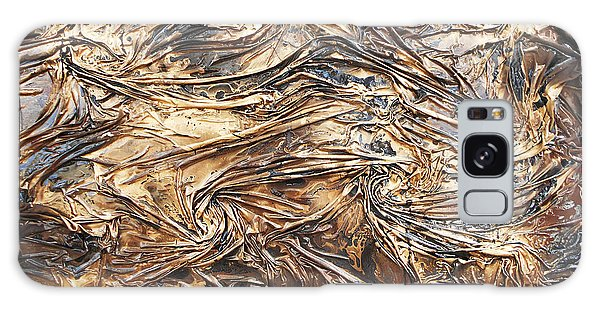 Gold Mining Galaxy Case by Angela Stout