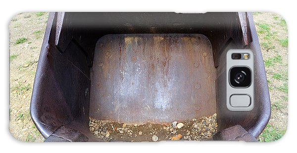 Gold Mining Steam Shovel Bucket Close-up Galaxy Case