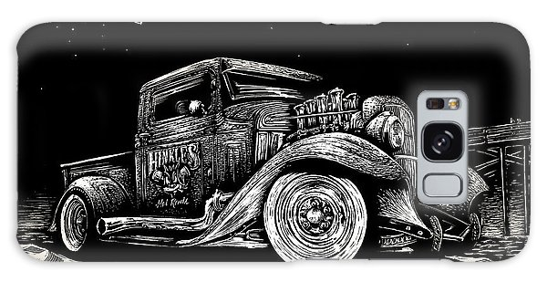 Old Truck Galaxy Case - Gold Rush Ufo by Bomonster