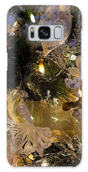 Gold Splendar Galaxy Case by Joanne Smoley