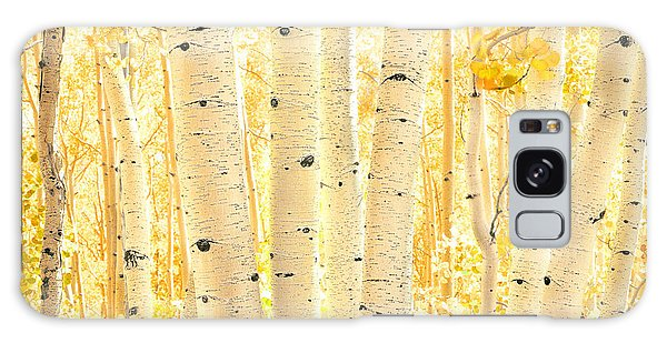 Golden Aspens Utah Galaxy Case