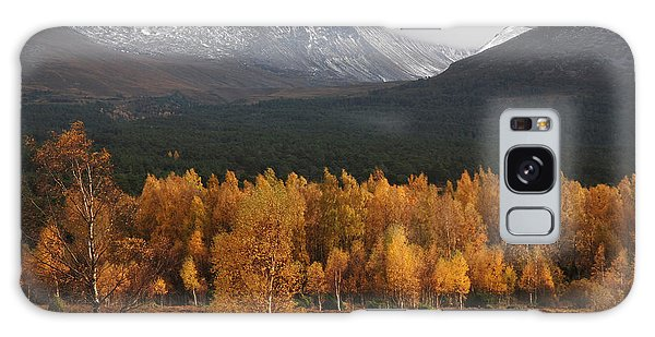 Galaxy Case - Golden Autumn - Cairngorm Mountains by Phil Banks