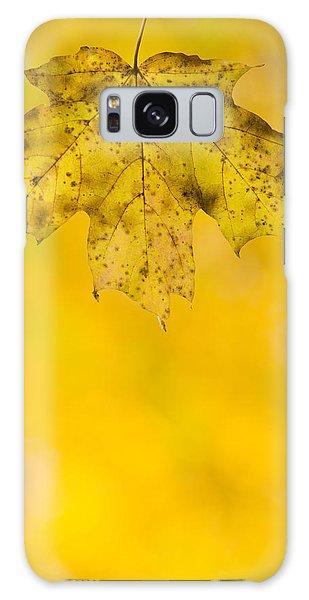 Golden Autumn Galaxy Case by Sebastian Musial