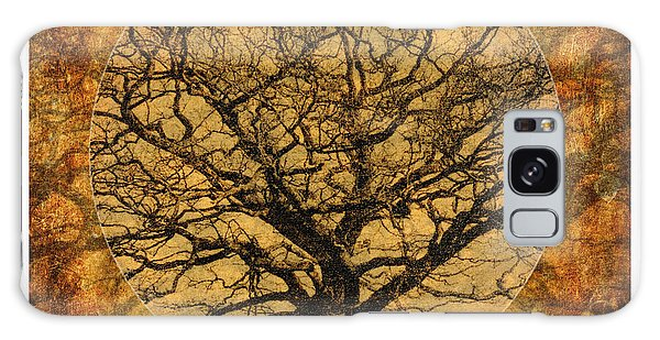 Golden Autumnal Trees Galaxy Case
