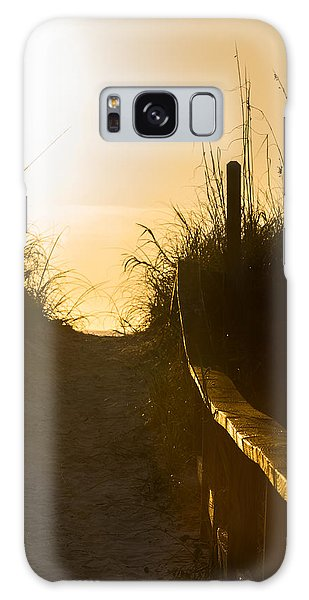 Golden Beach Access Galaxy Case