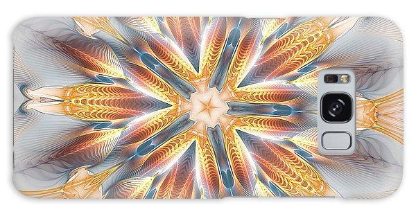 Golden Beach Kaleidoscope Galaxy Case