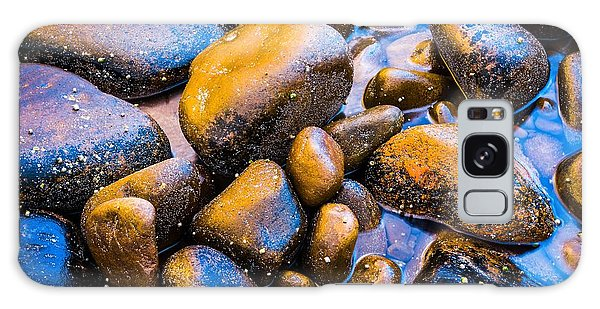Golden Boulders Galaxy Case