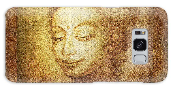 Golden Buddha Galaxy Case
