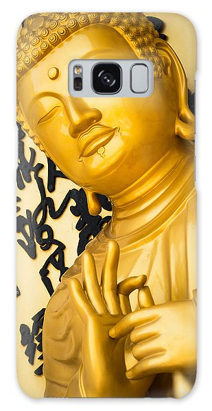 Golden Buddha Statue Galaxy Case