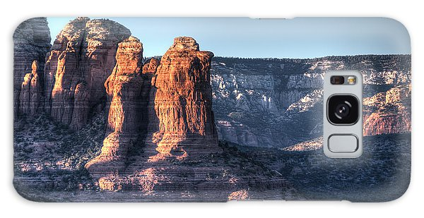 Golden Buttes Galaxy Case by Lynn Geoffroy
