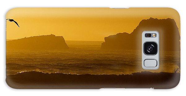 Golden Coast Galaxy Case