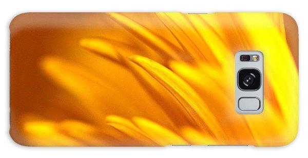 Golden Dahlia Galaxy Case