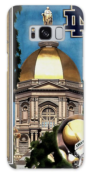 Golden Dome Galaxy Case