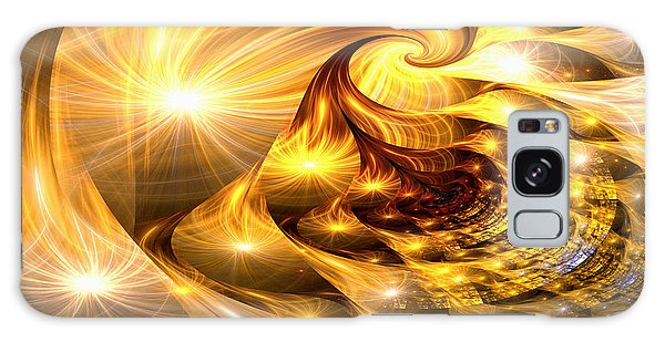 Golden Dreams II Galaxy Case