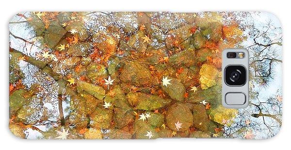Golden Dreams Galaxy Case by Julia Ivanovna Willhite