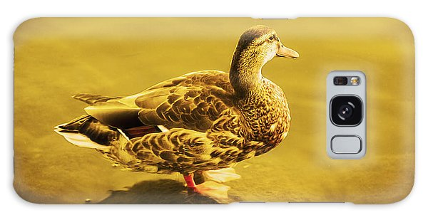 Golden Duck Galaxy Case
