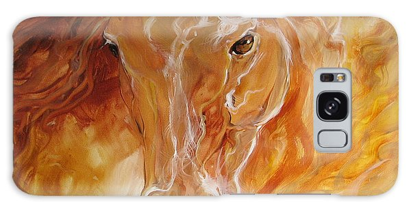 Golden Essence Equine Galaxy Case