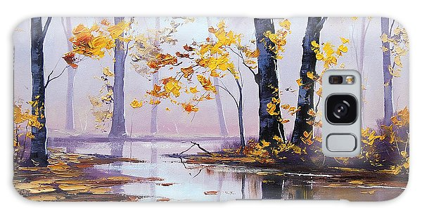 Foliage Galaxy Case - Golden Fall by Graham Gercken