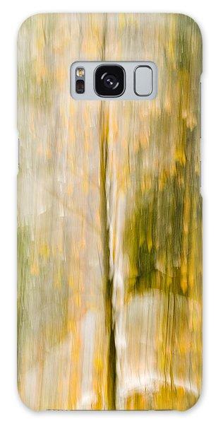 Golden Falls  Galaxy Case