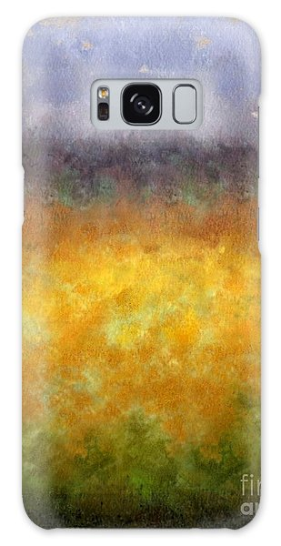 Golden Fields Galaxy Case by Darla Wood