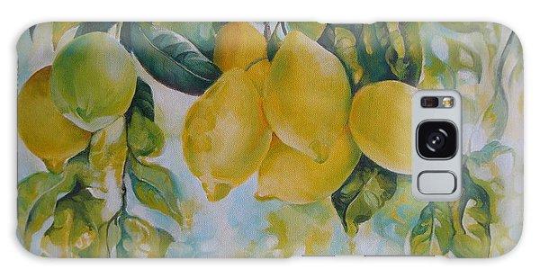 Golden Fruit Galaxy Case
