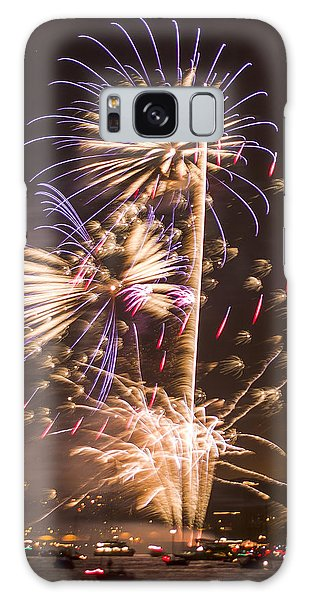 Golden Gate Bridge 75th Anniversary Fireworks 10 Galaxy Case