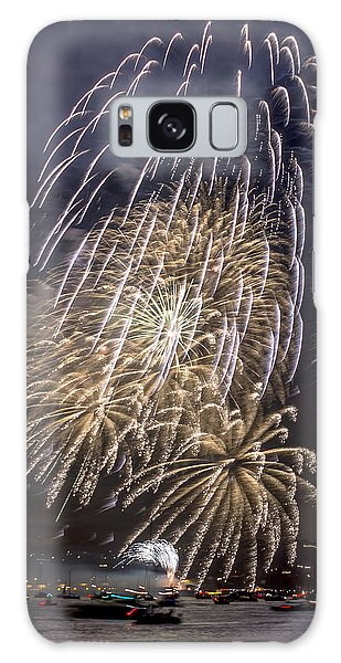 Golden Gate Bridge 75th Anniversary Fireworks 15 Galaxy Case