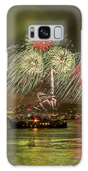 Golden Gate Bridge 75th Anniversary Fireworks 17 Galaxy Case