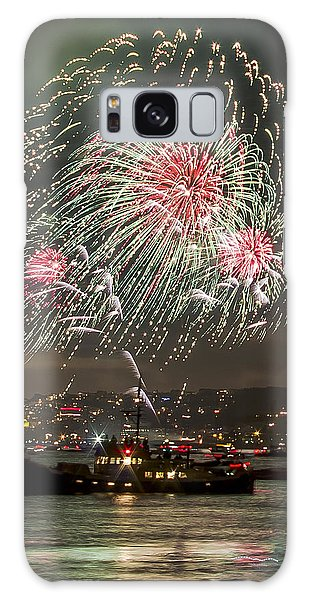 Golden Gate Bridge 75th Anniversary Fireworks 18 Galaxy Case
